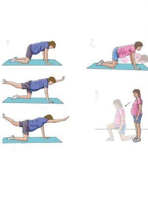 Kompleks ćwiczeń dla kobiet w ciąży 2
