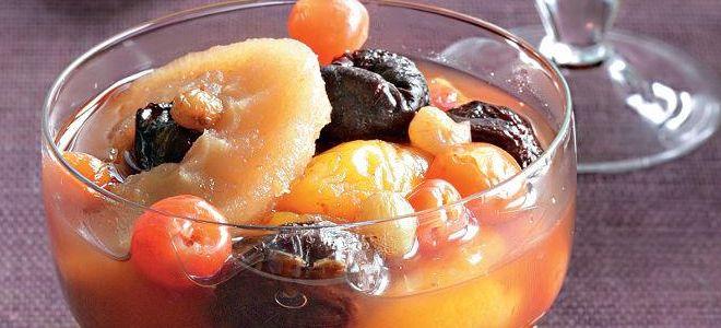 kompote suhega sadja