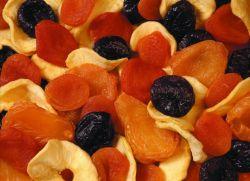 kompozicija korištenja sušenog voća