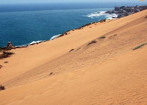 Дюны в Конконе прозвали Песками времени
