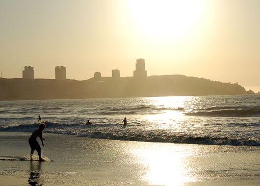 Пляжи Конкона считаются одними из лучших во всем Чили