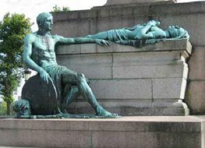 Памятник боевым товарищам