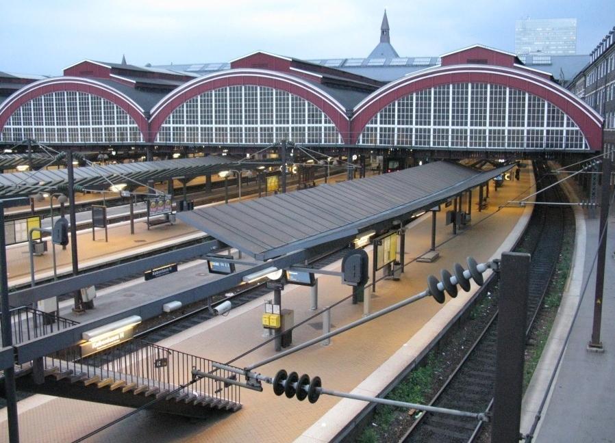 Железная дорога в Копенгагене