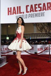 Жена актера выглядела блестяще