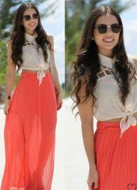 Barva korálků v oblečení 1