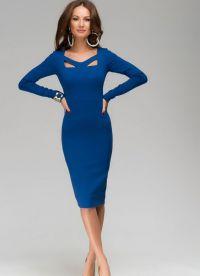chabrowy niebieski dress2