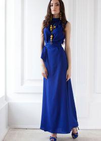 chabrowy niebieski dress8