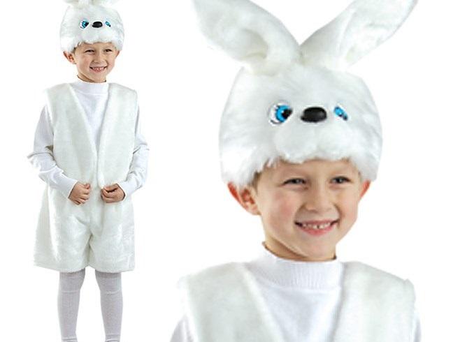 Kostim zec za dječaka 5
