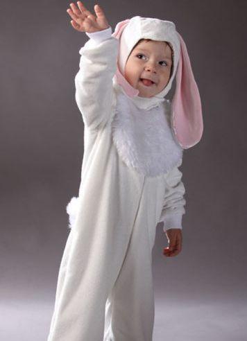 Kostim zec za dječaka 12
