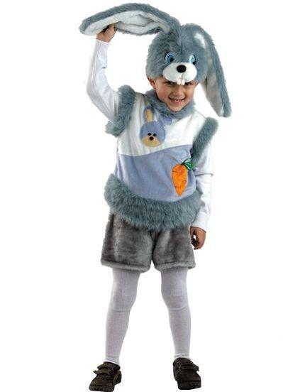 Kostim zec za dječaka 17
