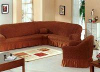 Pokrov za vogalni kavč 2