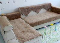 Pokrov za kotni kavč 6