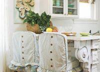 Pokrowce na krzesła w kuchni1