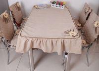 Pokrowce na krzesła w kuchni5