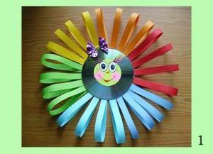 řemesla ze slunce disku 1