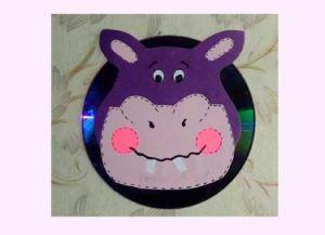 řemesla z disků pro děti 1
