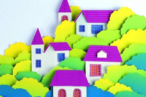 занаяти от цветна хартия и картон