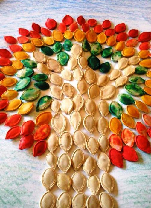 řemesla z dýňových semen2