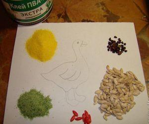 dýňová semena umění 2
