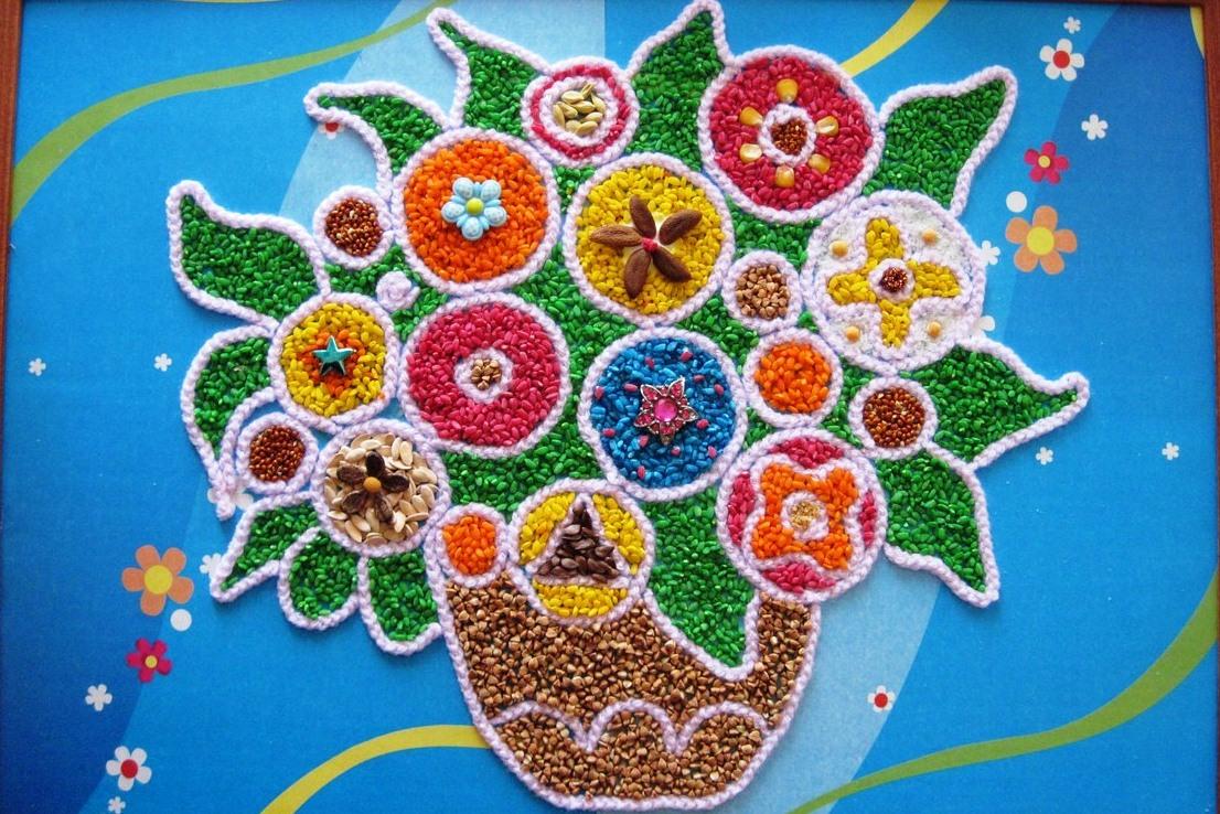 rzemiosło z nasion i zbóż zrób-to-sam14