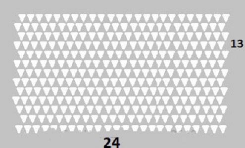 obrt iz trikotnih modulov fotografija 6