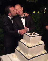 33-летний Джейсон Ву и Густаво Рангель стали мужем и женой