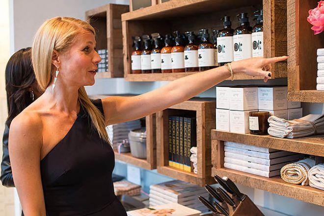 Гвинет Пэлтроу планирует открытие своего косметического магазина
