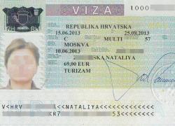 vizu u hrvatskoj