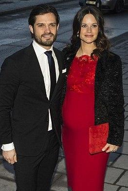Брат принцессы Виктории, принц Карл Филипп и его жена София, ждут малыша в следу