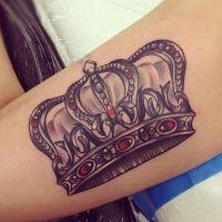шта значи тетоважа круна