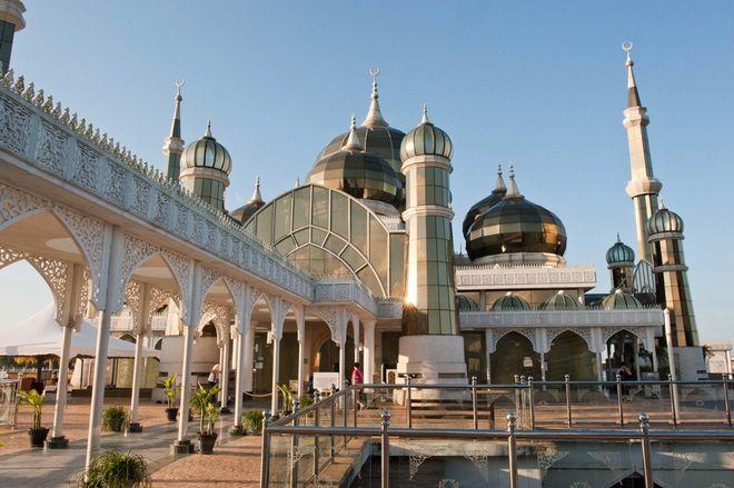 Внутренний двор Кристальной мечети