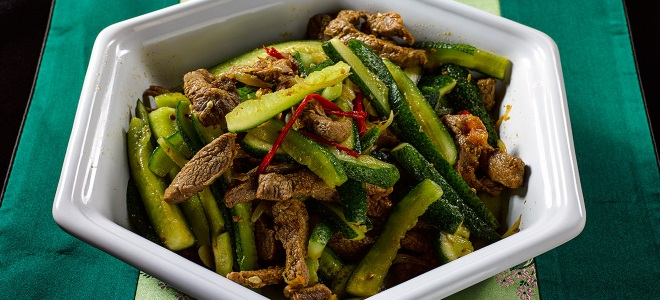 Korejska salata od krastavaca