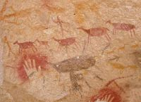 Рисунки охоты на животных