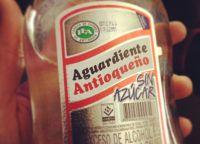 Национальный напиток Эквадора агуардиенте