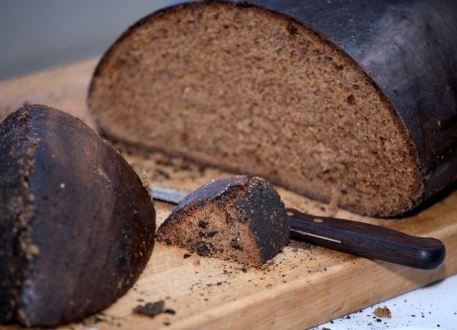 Ржаной хлеб, любимый латышами