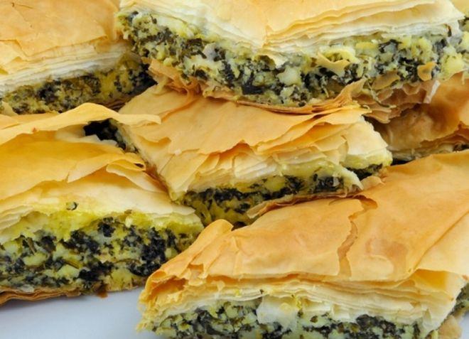 Пироги с овощами распространены в Латвии