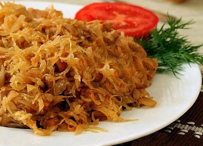 Тушеная квашеная капуста, позаимствованная из немецкой кухни