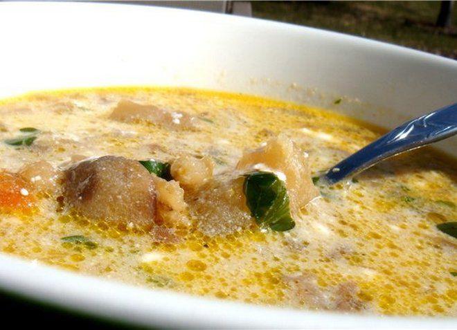 Суп со сметаной - освежит в жаркий летний день