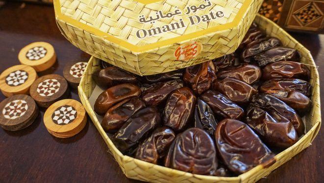 Финики - любимое лакомство жителей Омана