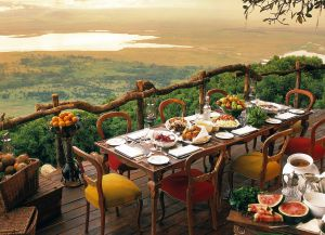 В ресторане Танзании