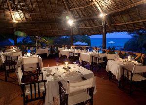 Ресторан при отеле Ras Nungwi Beach Hotel