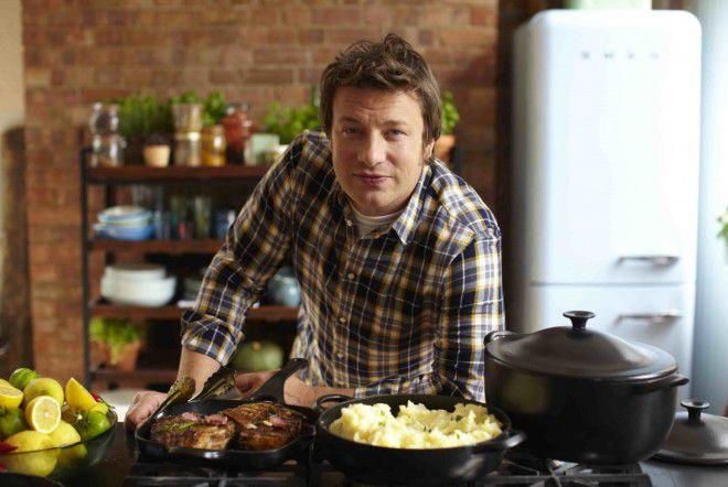 Джейми Оливер любит и умеет вкусно готовить