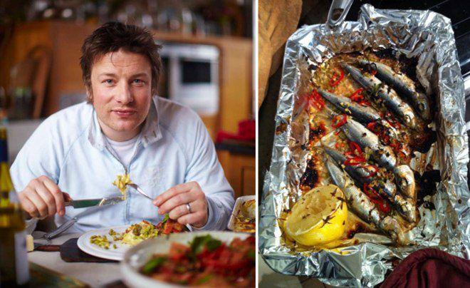 Джейми Оливер раскрывает свои кулинарные секреты
