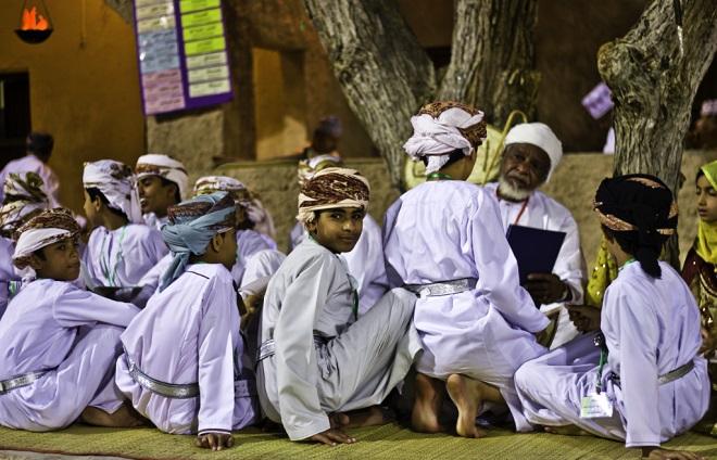 Оманские мальчишки