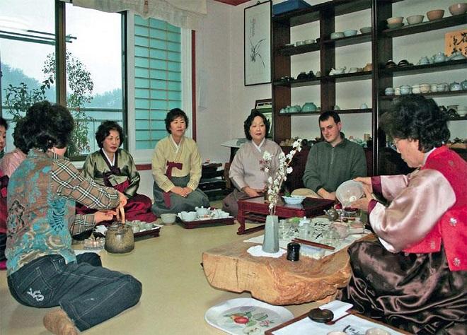 В гостях у корейской семьи