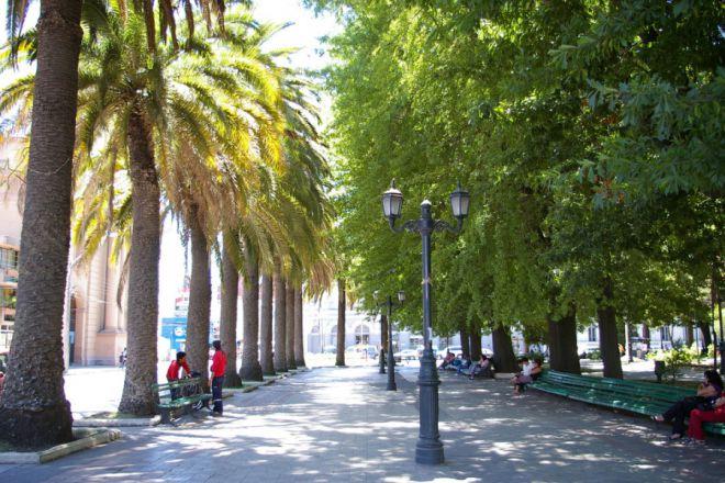 Главная площадь (Пласа де Армас)