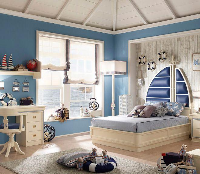 шторы в комнату мальчика 8 лет
