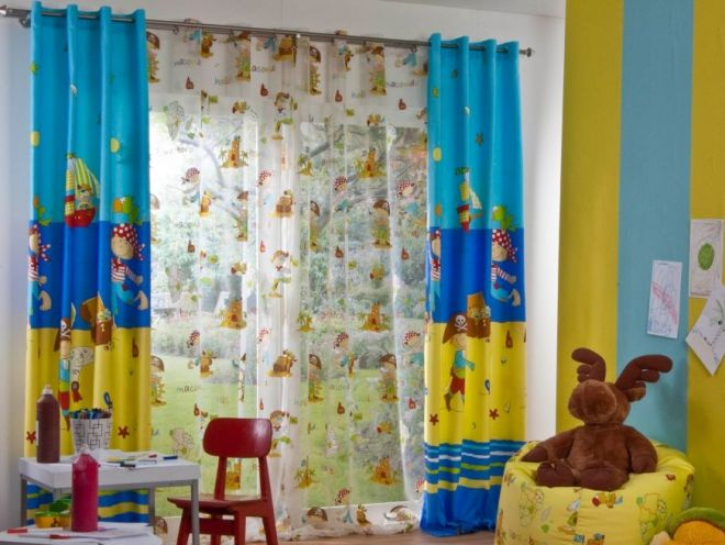 тюлевые шторы в спальню для мальчика