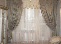 Zasłony w salonie z drzwiami balkonowymi9