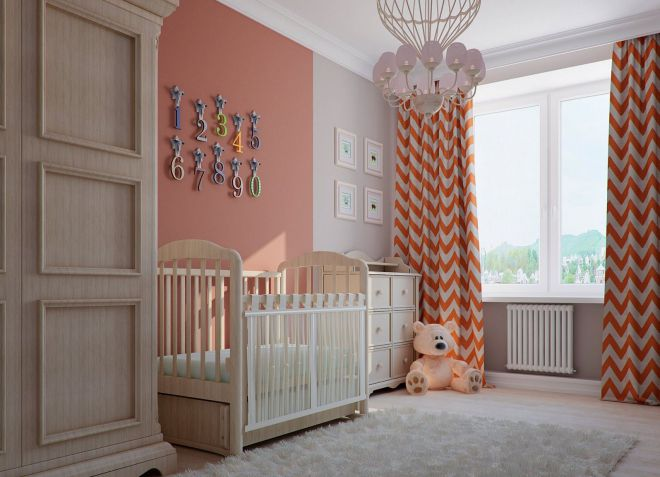 плотные детские шторы